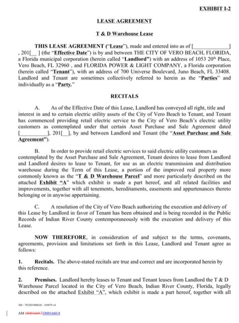 Warehouse Agreement Template warehouse lease agreement for free formtemplate