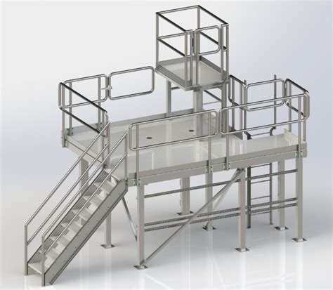 Platform Stairs Design Platform Stairs Design Movable Aluminium Platform And Stairway Design Dynamic Engineering