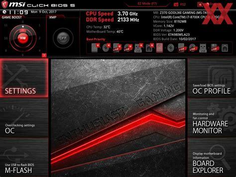 Lu Led Xpander msi z370 godlike gaming im test high end platine mit