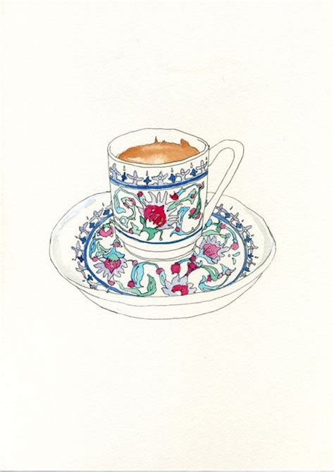 The Illustrations Below Show How Coffee Is Sometimes Produce Testbig by Turkish Wedding Inspiration Turkish Wedding Illustrations And Watercolor