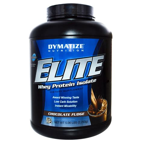 Elite Whey Dymatize dymatize nutrition elite whey protein isolate chocolate