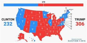 2016 presidential map electoral college map business insider