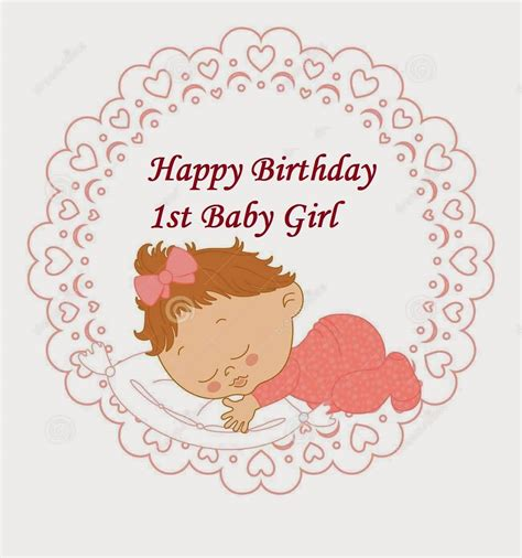 Happy Birthday Wishes For Toddler 33 Cute Baby Girl Birthday Wishes Picture Image