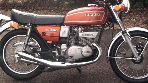 Suzuki 380 Gt Gt 380 Suzuki