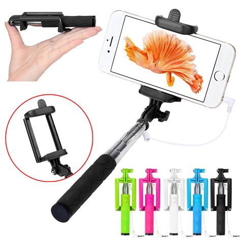 Monopod Android ᓂ2016 updated extendable selfie stick 15 5 63cm 15 5