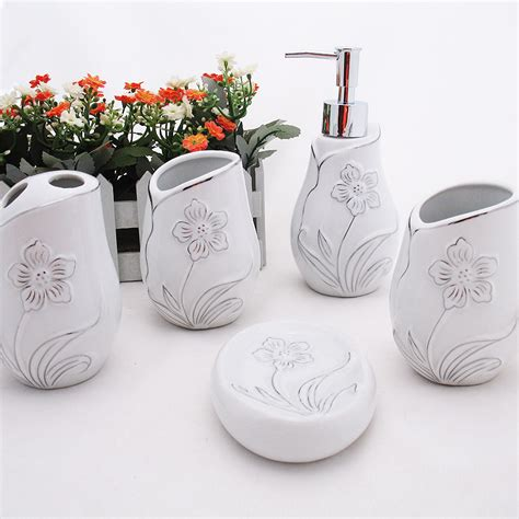 ceramic bathroom accessories set bathroom sets