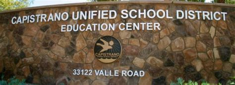 Capo Unified School District Calendar Cusd Removes Schools From State Open Enrollment List The