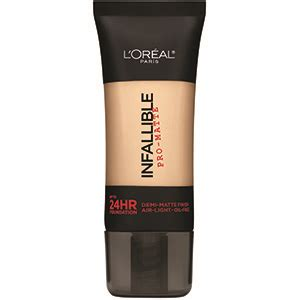 L Oreal Infallible Matte Foundation infallible pro matte foundation makeup l or 233 al