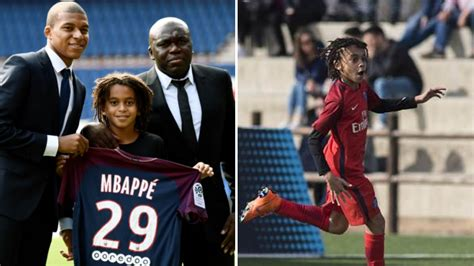 kylian mbappe years introducing kylian mbappe s younger brother 12 year old
