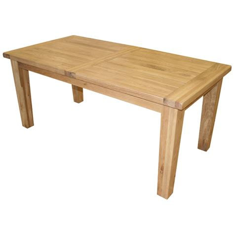 vancouver oak extending dining table review
