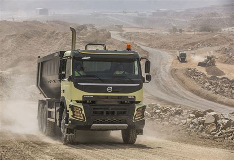volvo truck production zahid rolls out saudi volvo truck production