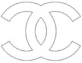 Chanel Logo Stencil Sketch Coloring Page My Style Pinterest Colorazione Stencil E Ricerca Channel Icon Template