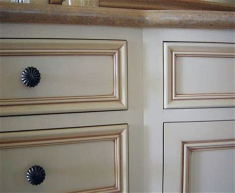 glazing cabinets before and after cream with brown glazed cabinets yay home
