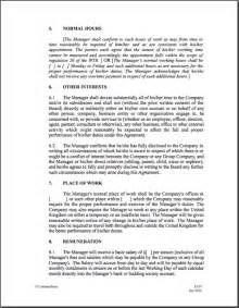 Letter Of Employment Vs Employment Contract Employment Contract Template Vnzgames