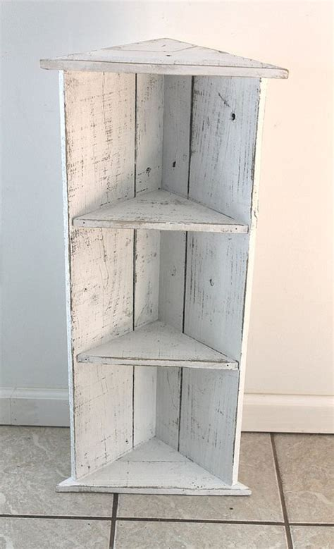 2 Shelf Corner Bookcase Handmade Corner Bookcase Icing Two Shelves By