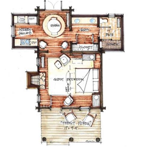 cozy cottage floor plans cozy cabin floor plans you can use to make your getaway
