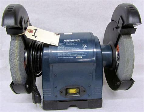 mastercraft bench grinder mastercraft bench grinder
