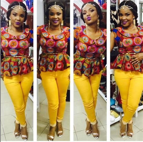 ankara designs for women trouser and jacket styles hottest ankara trouser and blouse for nigeria ladies