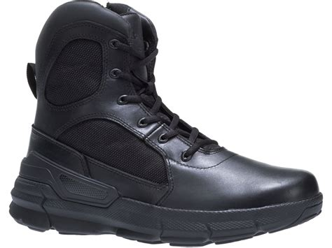 bates charge 6 side zip tactical boots leather