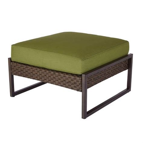 Cushion Ottoman Coffee Table Carol Patio Ottoman Coffee Table With Spectrum