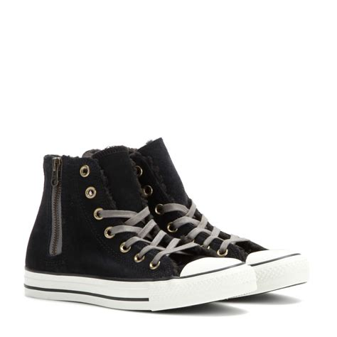 converse chuck all high top sneakers converse chuck all suede high top sneakers in