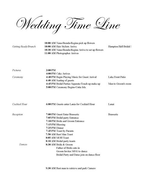 catholic wedding day timeline i desperately need help with my timeline help