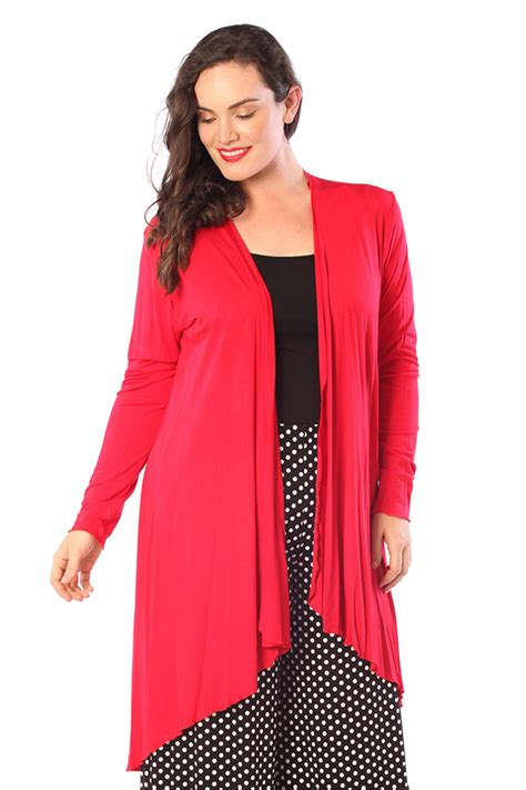 New Kardigan new cardigan womens open front water fall sweater plus size nouvelle ebay