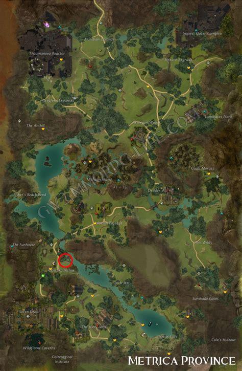 gw2 metrica province map juvenile flamingo metrica province gw2 map guild wars 2 life