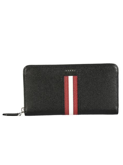 Bally Mans Wallet Bottom List bally bally telen zip around wallet black s wallets italist