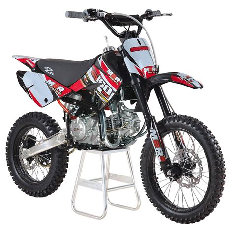 red dirt bike m2r racing km160mx 160cc 17 14 86cm red dirt bike