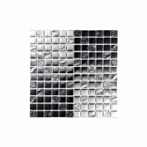 Slate Tile Bathroom Ideas by Slate Silver Square 30cm X 30cm Mosaic Wall Tile