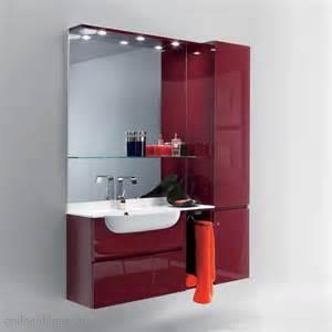 Bien Lambris Pvc Salle De Bain Leroy Merlin #5: meuble-salle-de-bain-couleur-bordeaux.jpg