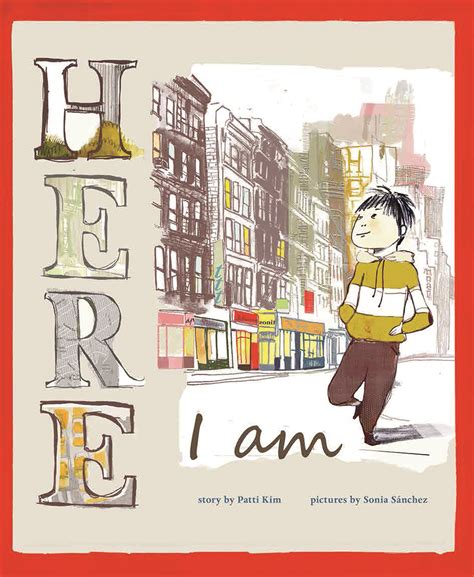 am i a books here i am by patti illustrated by s 225 nchez