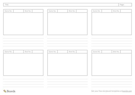40 Free Storyboard Templates Pdf Psd Word Ppt Storyboard Template For Powerpoint
