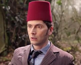 david tennant fez doctor who the day of the doctor video david