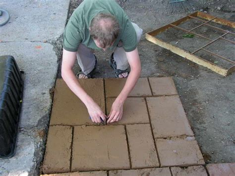 outdoor installing garden stepping molds mosaic