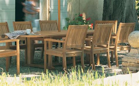 Bristol Teak Outdoor Dining Collection By Gloster Great Gatherings Outdoor Furniture