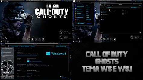 download theme windows 7 call of duty theme call of duty ghosts for windows 8 and 8 1 by