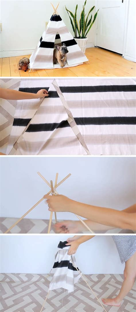 diy bed tent create this fun and inexpensive diy dog tent for your pup
