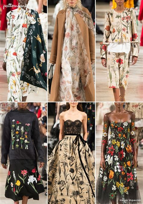 patternbank runway new york catwalk print pattern highlights fall 2018