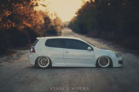 volkswagen gti stance the of simplicity alex schumacher s