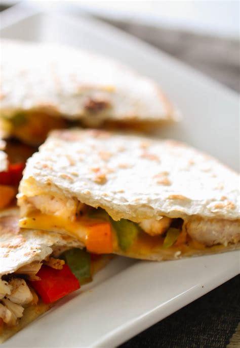 vegetables quesadilla recipe chicken and vegetable quesadillas six stuff