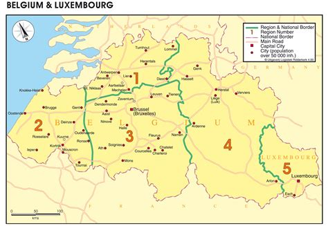 belgium and luxembourg map www rotterdamtransport maps groupage by road