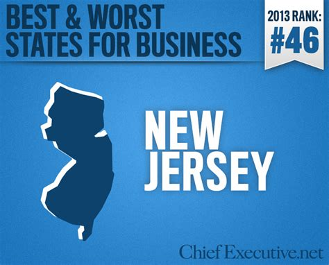 Top Mba Programs Nj by New Jersey Is The 46th Best State For Business 2013