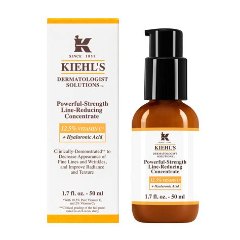 Serum Kiehl S anti aging serum powerful strength line reducing