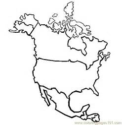 america map coloring page coloring pages america education gt maps free