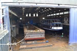 boat trip newark lighter and trip boat in dry dock at 169 david martin
