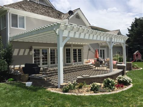 Quot Wow Quot 12 X 20 White Timber Fast Easy Patio Shade Attached Pergola Kit