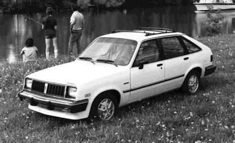 how petrol cars work 1986 pontiac 1000 navigation system 1986 pontiac 1000 photos informations articles bestcarmag com