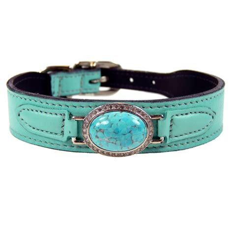 swarovski collar st tropez estate swarovski leather collar turquoise designer collars